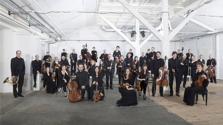 Das Kammerorchester Basel in seinem Domizil – im Ackermannshof.