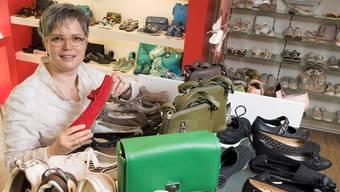 Esther Albiez: «Wir wissen alles über unsere Schuhe, kennen die Hersteller und die Produktionsstandorte.»alex Spichale