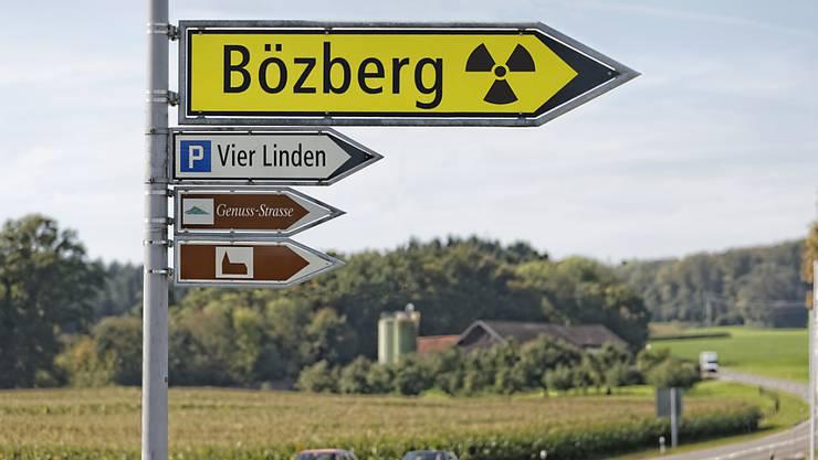 Die Nagra hat bei der Suche nach einem Standort für ein Atomendlager mit seismischen Messungen am Bözberg begonnen.