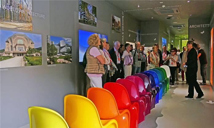 In der Ausstellung «Spirito die Basilea» stossen wir auf Basler Architektur – und Möbeldesign – von Weltrang.