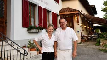 Susi und Peter Bader können sich diesen Sommer nicht von ihren Gästen verabschieden.