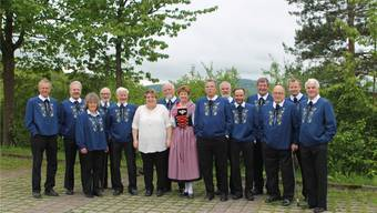 Das Jodel-Doppelquartett Brugg feiert, der Reinerlös des Konzerts in der Stadtkirche geht an das Kinderheim Brugg.