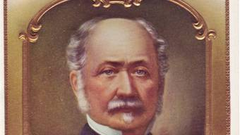 General John Sutter zierte in den USA sogar Briefmarken.
