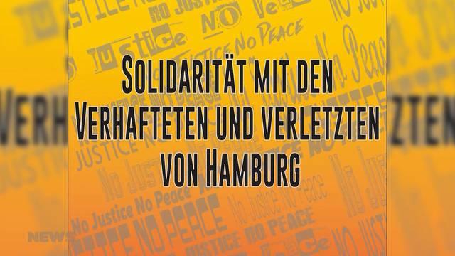 Solidarität für G20-Krawallanten?