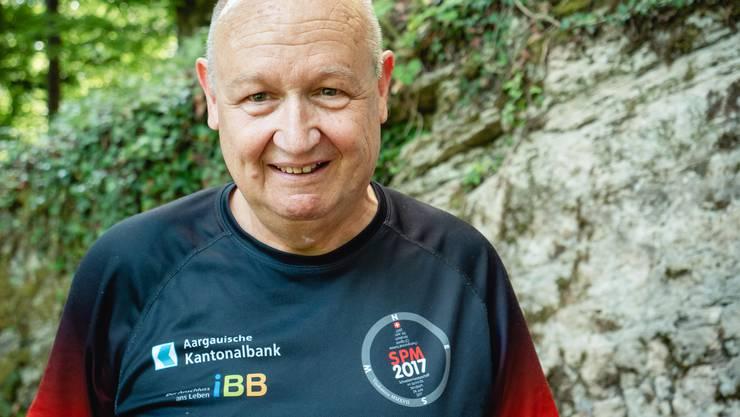Wieder zum Schmunzeln aufgelegt: Beat Frey, 62, aus Birr
