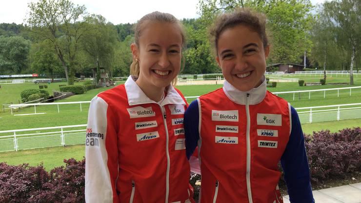 Elite von morgen! Eline Gemperle und Siana Senn