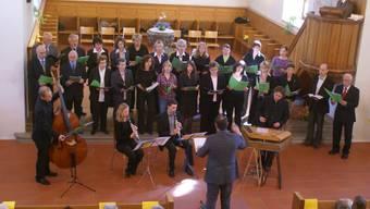 Boten ein erhabenes Konzerterlebnis: Der Chor Crescendo.