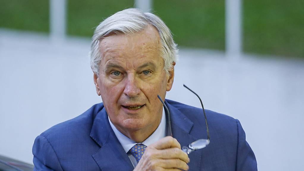 EU-Brexit-Unterhändler Michel Barnier hält ein Abkommen über einen geregelten Austritt Grossbritanniens in den kommenden Tagen weiter für machbar.
