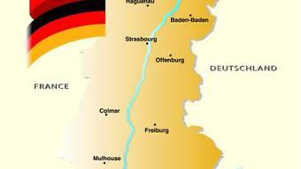 Das Logo der trinationalen Metropolregion Oberrhein.