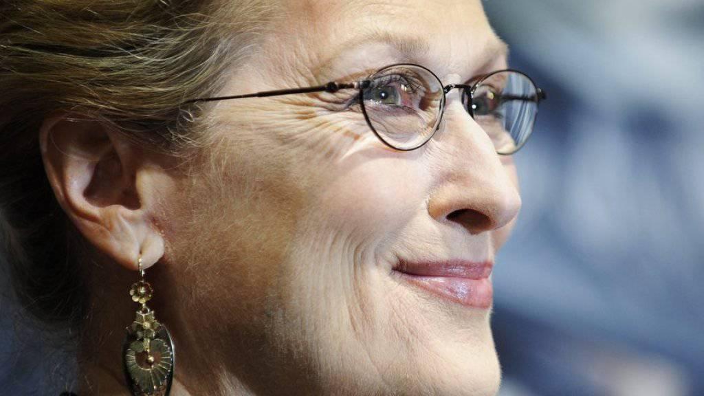 Für den Film kriegt sie fast alles hin: Als Meryl eine Bühne zu betreten, kostet Meryl Streep aber nach wie vor grosse Überwindung (Archiv)