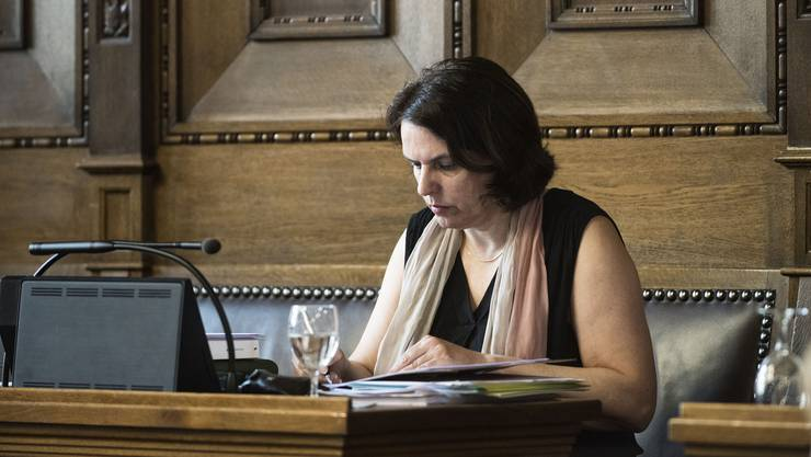 Elisabeth Ackermann betont, dass die Regierung die Museumsstrategie bis Ende Jahr vorlegen will.