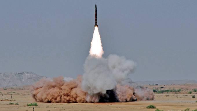 Ballistische Raketen können Trägersysteme für Massenvernichtungswaffen sein.