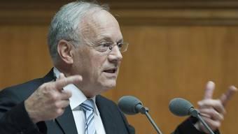 Schneider-Ammann führt eine Vernehmlassung durch