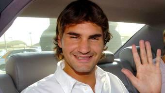 Roger Federer im Jahr 2004.
