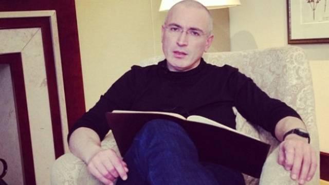 In Freiheit: Michail Chodorkowski im Hotel Adlon in Berlin.