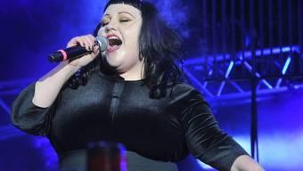 Zum Vergnügen, Beth Ditto live zu hören, kommt man in Luzern nicht (Archiv)