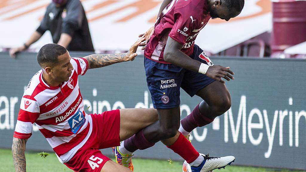 Léo Lacroix und Sion hatten fast eine ganze Saison Zeit, den Abstiegskampf zu üben