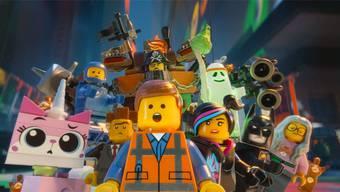 Hier sind die Lego-Figuren die Hauptdarsteller.