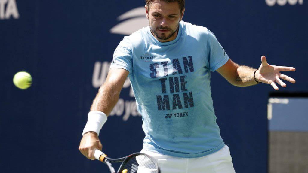 Stan Wawrinka hat sich für das US Open in New York einiges vorgenommen