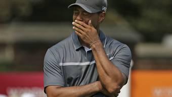 Tiger Woods spürt Leid und Schmerzen