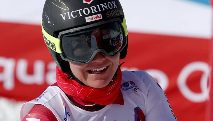 Fabienne Suter geht gut aufgelegt in die neue Saison.