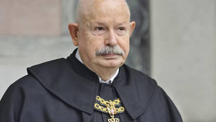 Der neue Malteser-Grossmeister, der 72-jährige Italiener Giacomo Dalla Torre del Tempio di Sanguinetto.