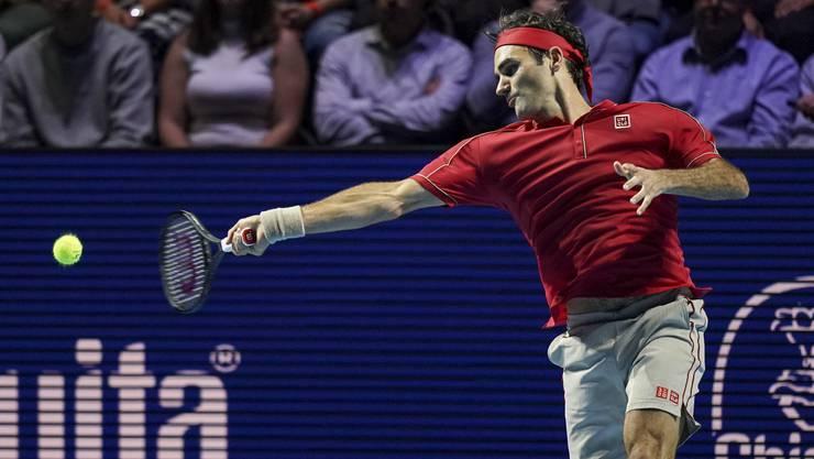 Roger Federer wird in der ersten Runde an seinem Heimturnier von Peter Gojowczyk gefordert.