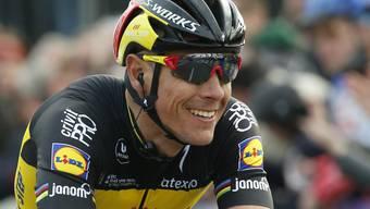 Philippe Gilbert hat gut lachen: Er gewinnt vor seinem Heimpublikum die Flandern-Rundfahrt