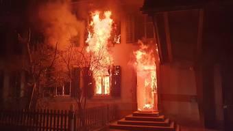 Bözberg: Wohnhaus durch Brand zerstört