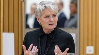 Justizdirektorin Jacqueline Fehr (SP) (oben im Bild) und Baudirektor Martin Neukom (Grüne) lancierten in Eigenregie einen so genannten «Zürcher Klimagipfel». (Archivbild)