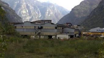 Das ehemalige Fabrikgelände Monteforno im Tessin (Archiv)