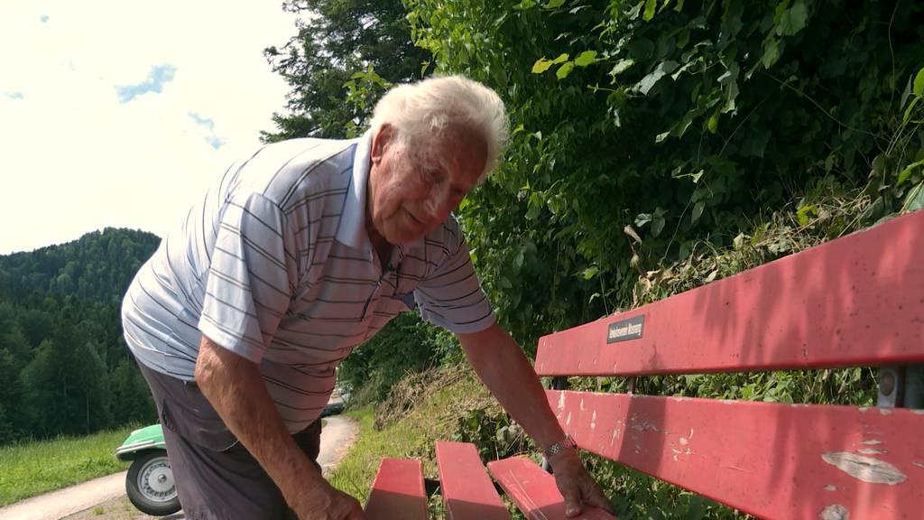 Bänklichef geht mit 85 Jahren in Pension