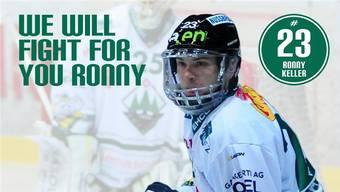 «we will fight for you Ronny» zeigt das grosse Mitgefühl der Bevölkerung.