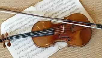 Eine Stradivari-Geige aus dem Jahr 1716 (Archiv)