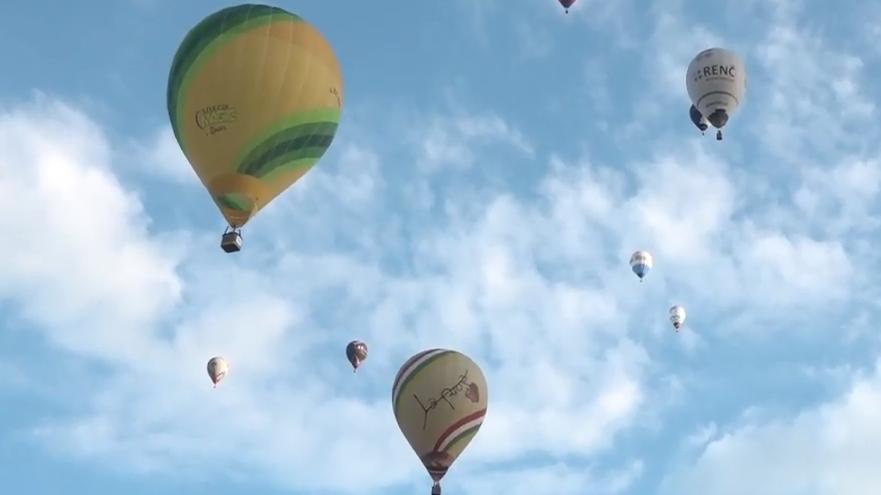 13 Ballonfahrer kämpfen in Willisau um den Schweizermeister-Titel