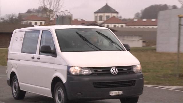Mutmasslicher Vierfachmörder nach Lenzburg transportiert