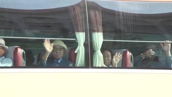 Familienzusammenführung: Südkoreaner wollen in Nordkorea ihre seit dem Koreakrieg getrennt von ihnen lebenden Verwandten treffen.