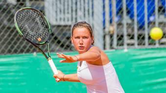Titelverteidigerin Ylena In-Albon will sich morgen im Halbfinal gegen die Norwegerin Brune Olsen revanchieren.