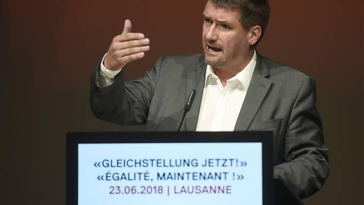 """""""Eine Sanierung allein über neue Einnahmen"""": SP-Präsident Christian Levrat zur Sanierung der AHV. (Archivbild)"""