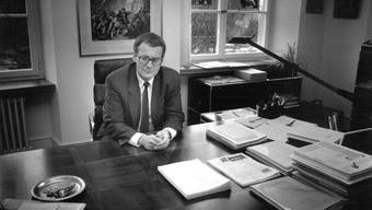 Kurt Fluri als Stadtpräsident von Solothurn