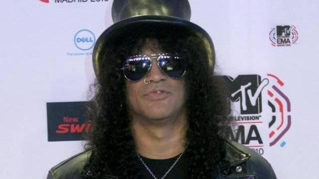 Slash kann auch mit ein paar Gitarren weniger leben
