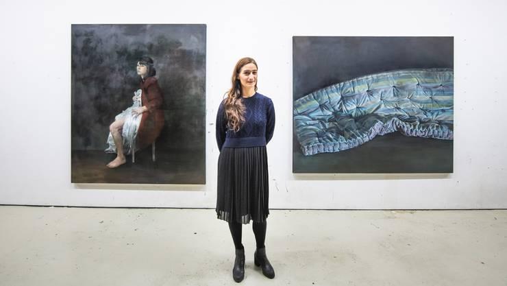 Das neue Atelier sei ein Traum, so die Künstlerin Gergana Mantscheva.