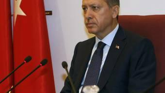 Der türkische Premier Recep Tayyip Erdogan will gegen die PKK vorgehen (Archiv)