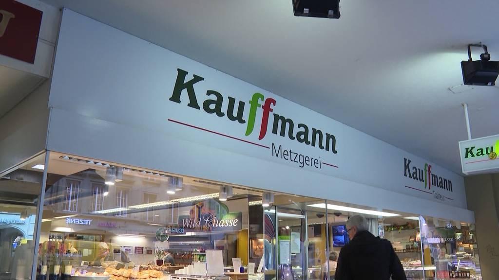 Berner Altstadt: Metzgerei Kauffmann schliesst ihre Türen