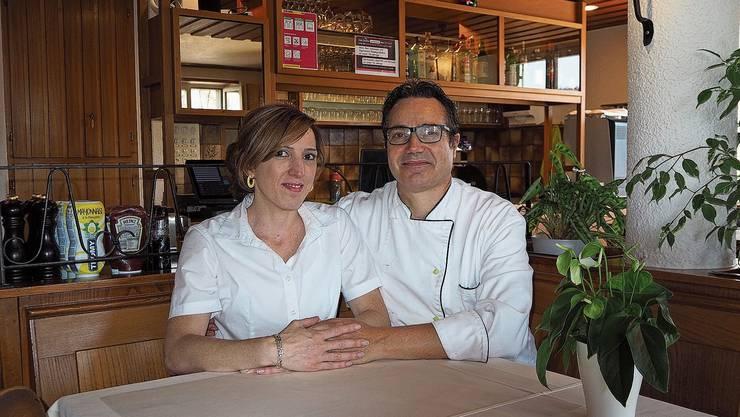 Carolina und Giovanni Rosso wirten im «Warteck» in Kaisten.