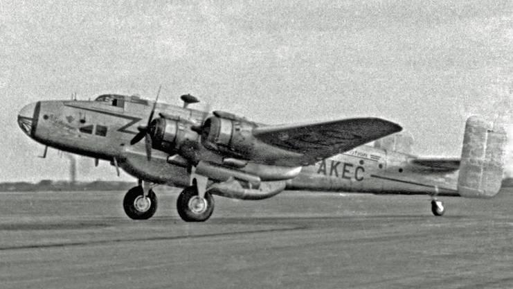 Handley Page Halifax C.VIII G-AKEC.