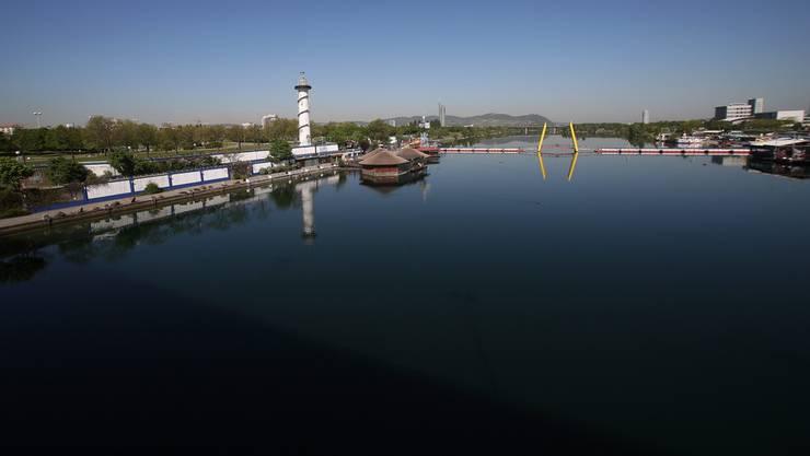 Para-Ruderer verunglückt in der Donau.