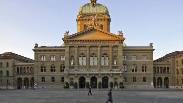 Das Bundeshaus in Bern (Symbolbild)