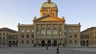 Das Bundeshaus in Bern: m ihrer Forderung für einen Subventionsstopp von politischen Jugendorganisationen mehr Nachdruck zu verleihen, versuchten sie einen Parteikollegen aufzutreiben, der einen entsprechenden Vorstoss im Parlament einreicht - vergeblich.