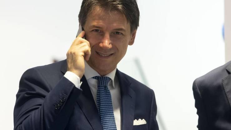 Bisheriger und auch neuer Regierungschef Italiens: Giuseppe Conte.